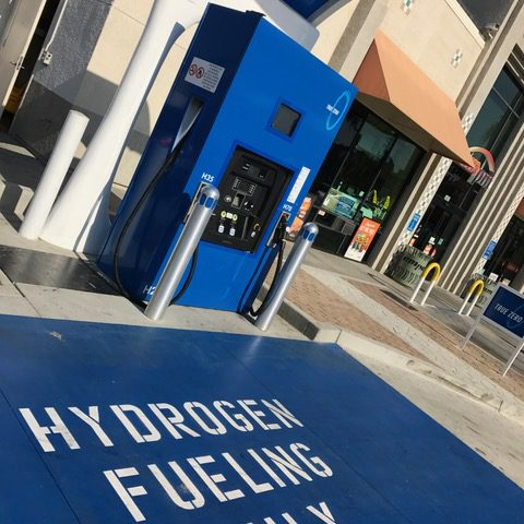 hydrogen fueling station in SFO